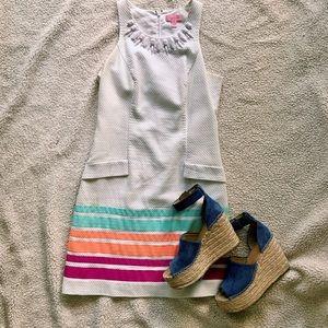 Lilly Pulitzer White Shift Dress